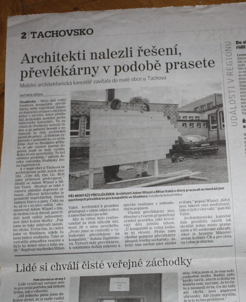 Tachovký deník / 20-08-2014