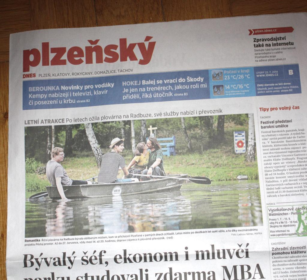 Plzeňský deník / 22-07-2014