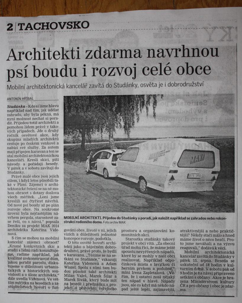Tachovký deník / 04-08-2014